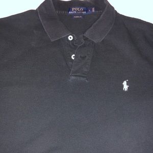 Polo-Men's Black Polo size Large